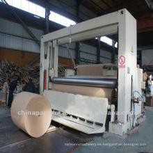 Máquina rebobinadora de papel para máquina de fabricación de papel
