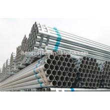 Tianjin fábrica de q195-q345 pre galvanizado tubo de acero / tubo