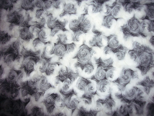 High Quality Jacquard Faux Fur