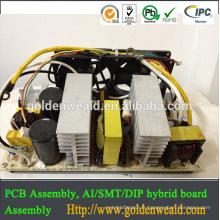 La fabrication électronique faite sur commande de pcba pcba, alimentation de découpage de 60A