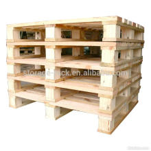 Woo Material Euro Pallets/2-Way Entry Type and Pallet Type Pallet