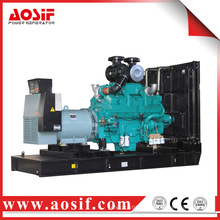 China 750kw / 938kva generador usado a prueba de sonido KTA38-G2B generador diesel