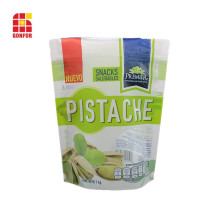 La nourriture adaptée aux besoins du client de sacs d'emballage de noix de pistache tient la poche