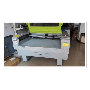 Máquina de corte e gravação a laser para material de corte / calçados