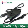 12W Power Supply 12VDC 1A