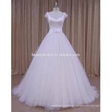 ДОЛОР почетное пятно бисером свадебное платье