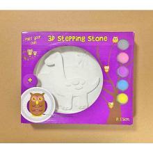 3D DIY colorear juguete de pintura de piedra