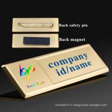 Badges magnétiques, badge de nom magnétique