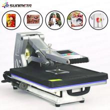 Machine automatique d'impression de chemise de transfert de chaleur