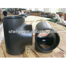 carbon steel pipe equal tee