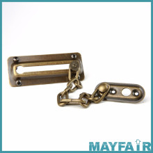 Chaîne de porte métallique en alliage de zinc haute qualité
