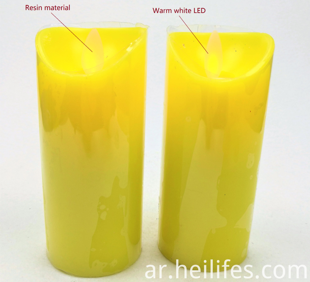 Festival Gifts of Yellow Candle Light