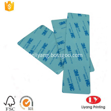 Custom printed self-adhesive frosted PVC stickers