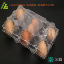 Plastic Eggs Clamshell Packaging Tray