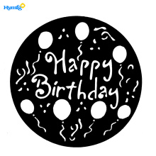 Plastic DIY Cake Stencils Template for Party