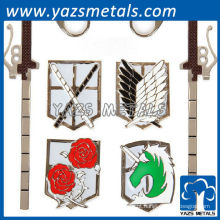 pinos da lapela do emblema dos desenhos animados d