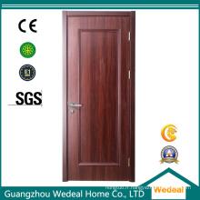 Porte intérieure de placage en bois dans différents modèles pour la sécurité