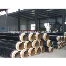 Hot rolled Polyurethane thermal insulation steel pipes