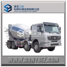 HOWO 8X4 Cimento Mixer Truck 12-16cubic