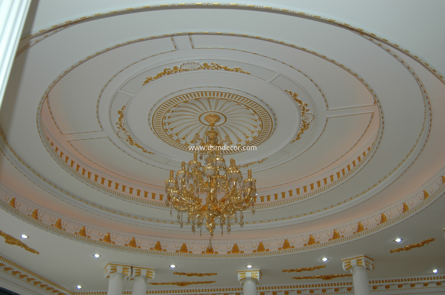 Leading Manufacturer Plaster Ceiling Roses Ceiling Ring