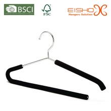 Metall Anzug Kleiderbügel mit Schaum (TP815)