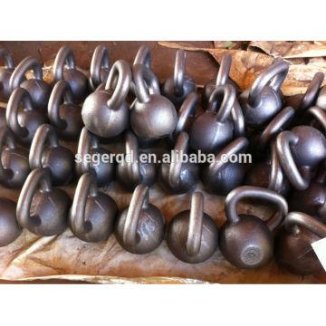 China iron 64kg kettlebell