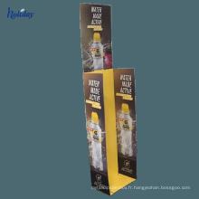 Présentoir de parapluie de produit de personnalisation de graphiques de supermarché de carton