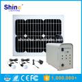 20W Preço Fábrica Carregador Móvel Iluminação Home Solar Energy System