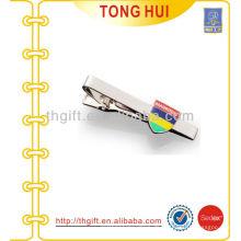 Harte Emaille Schild Logo Krawattenklammern Metallfabrik für Krawattenzubehör