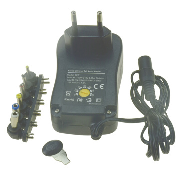 18W Universal AC Adapter Multi Voltage für Elektronik