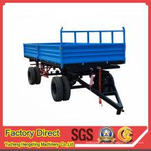Remolque arrastrado agrícola pesado de la granja del tractor con calidad de la fábrica