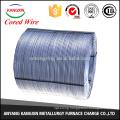 CaSi/calcium silicon cored wire of Si55-60