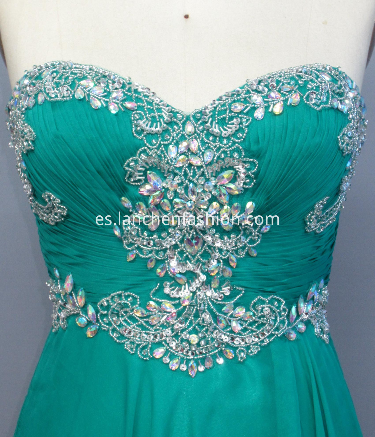 Sleeveless Dress Green