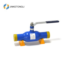 Válvulas de esfera novas do fluxo da liberação rápida soldadas de alta pressão do projeto da fábrica com certificado do ce