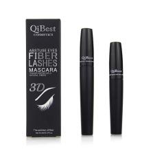 Qibest 2PCS/Set 3D Abstuse Eyes Fiber Lashes Mascara