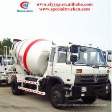 4x2 concrete mixer truck 3-6m3 Mini mixer truck for hot sale