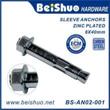 Hex Head Dynabolt Sleeve Anchor Carbon Steel