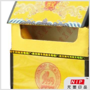 Cinta del rasgón del cigarrillo de holograma envases para el embalaje de la caja