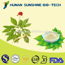 Brownish yellow powder increasing penis hardness of erection Panax Ginseng Extract