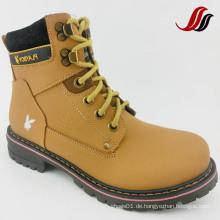 Hochwertige Männer MID-Cut Causal Leder Schuhe Leder Stiefel (MF716)
