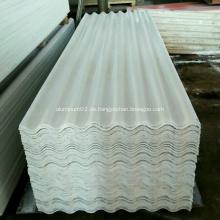 Panel para techos de MgO de aluminio resistente al fuego de alta resistencia