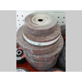 Roue abrasive abrasive de noyau en bois pour le polissage d'acier inoxydable