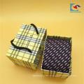 Qualitätsgewohnheit weiße Farbbindungsgeschenk-Verpackungskasten mit Seil