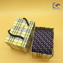 Cajas de empaquetado corredizas de encargo del corbata del regalo del cajón del lujo de encargo