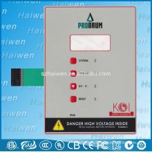 LED glossy tactile membrane keypad