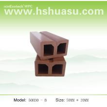 Joel compósito / quilha de madeira WPC (40H30 D)