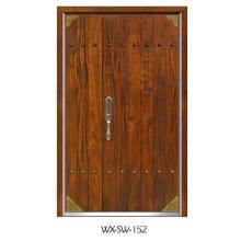 Porta de madeira de aço (WX-SW-152)