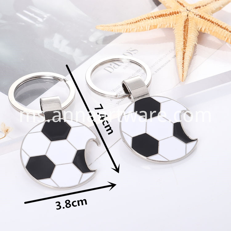 Football Keychain With Bottle Opener 07