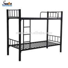 Двойной металл дизайн кровать мебель спальни школы