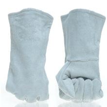 Cow Split Leather Welding Gloves with Ce En12477
